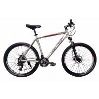 Велосипед HARTMAN Dragster Pro Disk 19 21ск. алюм, сер.антроцит мат.