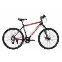 Велосипед HARTMAN Black stone Pro Disk 17'' 21ск. алюм, черно-красн.мат.