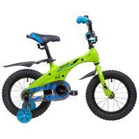 Велосипед NOVATRACK 14'', BLAST, зеленый неон