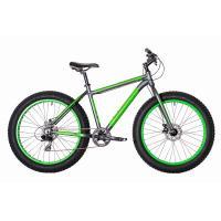 Велосипед HARTMAN Forse 21 8ск. алюм мат/серый