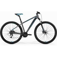 Велосипед Merida Big Nine 40-D 20''XL '19 MattDarkSilver/Blue/Black (29'')