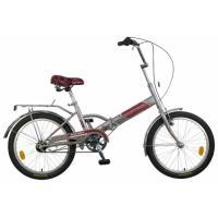 Велосипед NOVATRACK 20'', FP30, скл., серый