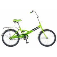 Велосипед NOVATRACK 20'', FP30, скл., салатовый