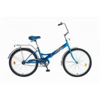 Велосипед NOVATRACK 24'', FS, скл., синий
