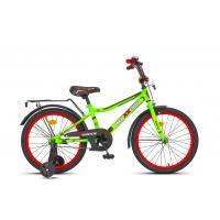 Велосипед MaxxPro Onix Z16607 матовый зелено-черно-красный