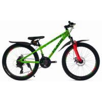 Велосипед Platin A240 зеленый/оранжевый
