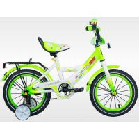 Велосипед PULSE 1402-4 белый/св.зеленый
