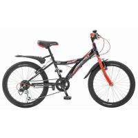 Велосипед NOVATRACK 20'', RACER, 6-скор. черный 117048