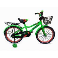Велосипед Platin 1630-4 зеленый/оранжевый