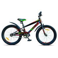 Велосипед Cubus 20-10  черно/зеленый