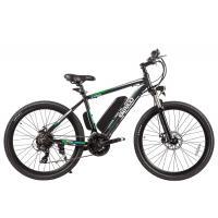 Велогибрид Eltreco ХТ700 серо-зеленый