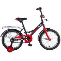 Велосипед NOVATRACK 12'', STRIKE, черный-красный