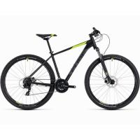 Велосипед CUBE 18 AIM PRO 29 black'n' flashyellow 19''