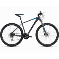 Велосипед CUBE 18 AIM RACE 29 grey'n'blue 19''
