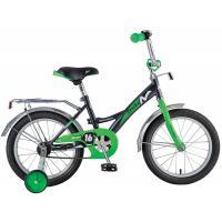 Велосипед NOVATRACK 14'', STRIKE, черный-зеленый