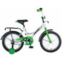 Велосипед NOVATRACK 18'',STRIKE, белый-зеленый