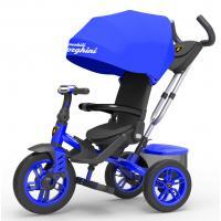 Велосипед 3-х кол Lamborghini'' L5В, синий, надув. шины, фара