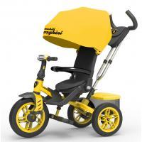 Велосипед 3-х кол Lamborghini'' L5Y, желтый, надув. шины, фара