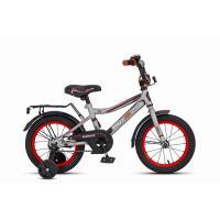 Велосипед MaxxPro Onix 14601 серебристо-черно-красный