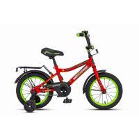 Велосипед MaxxPro Onix 14608 красно-черно-зеленый
