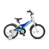 Велосипед STELS Jet 8,5 арт.Z010 белый/синий