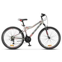 Велосипед Stels Navigator-510 V14 серый/красный арт.V030