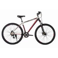 Велосипед HARTMAN Ingword Pro Disk 21'' 21ск. алюм, хром черно-красный