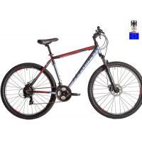 Велосипед HARTMAN Ingword Disk 21'' 21ск. алюм, серо-черно-красн мат