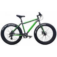 Велосипед HARTMAN Force 19'' Fat-Bike 8ск. алюм, серо-зелен мат. хром