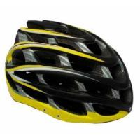 Шлем вело К17, 10 вент. отв M/L (58-65) желтый/черный