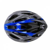Шлем вело К17, 10 вент. отв M/L (58-65) синий/черный