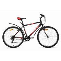 Велосипед Foxx ManGo  V, 6ск, черный/красный