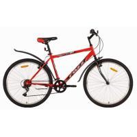 Велосипед Foxx ManGo  V, 6ск, красный/черный
