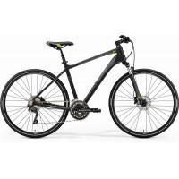 Велосипед Merida Crossway 300 55cm L '19 MattBlack/Green (700C)