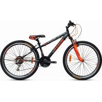 Велосипед Faraon V2620 черно/оранжевый