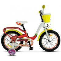 Велосипед STELS Pilot 190 9 красный/желтый/белый арт.V030