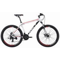 Велосипед Welt Ridge 1.0 D '19 matt white/red/black M
