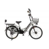 Велогибрид Eltreco e-ALFA серый