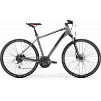 Велосипед Merida Crossway 100 51cm М '18 ShinyDarkSilver/Red/Black