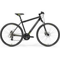 Велосипед Merida Crossway 15-MD 52cm ML '19 MetallicBlack/Green (700C)