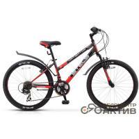 Велосипед Stels Navigator-400 V14 серый/зеленый/белый арт.V030