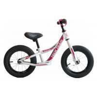 Беговел Racer черный (розовый)