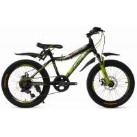 Велосипед Platin A201 черный/зеленый