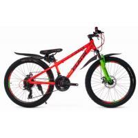 Велосипед Platin A240 оранжевый/зеленый