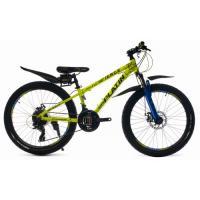 Велосипед Platin A240 желтый/синий