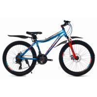 Велосипед Platin A241 синий/красный