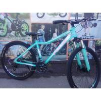 Велосипед PULSE MD650 мятный/розовый