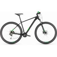 Велосипед CUBE 19 ANALOG 29 black'n'green 21''