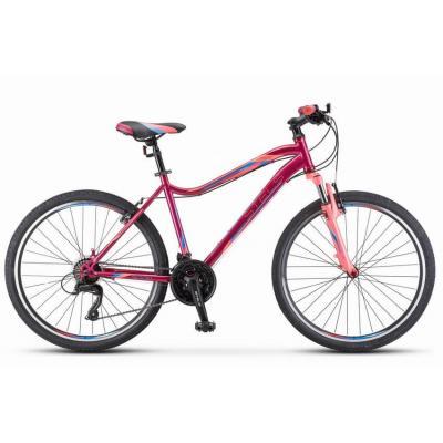 Велосипед Stels Miss-5100 MD 15 белый/зеленый арт.V030