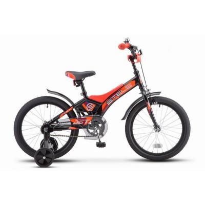 Велосипед STELS Jet 10 черный/оранжевый арт.Z010 (2021)